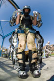New Exoskeleton Makes Super Soldiers?