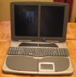 Weird Dual-Screen Laptop for Sale at eBay