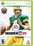Oh, Brett!  About That Madden '09 Box Cover