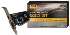 S3 Graphics Launches Chrome 500 Graphics Cards - HotHardware