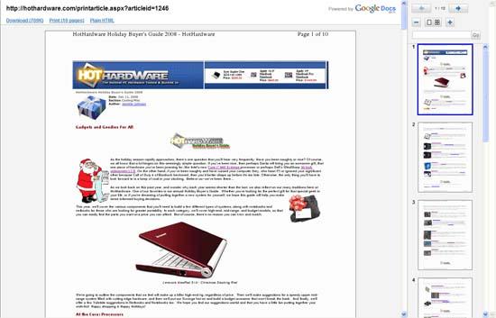 Gmail Gets PDF Viewer | HotHardware
