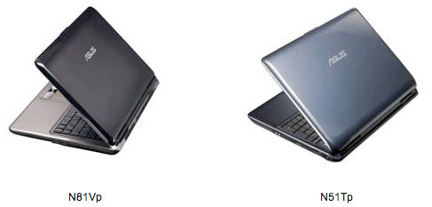 Asus N51Tp Notebook Drivers for PC