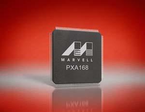 Marvell PXA168 processor
