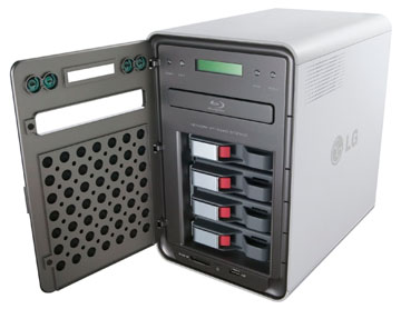 The Lg Model N4b1 Is A Four Drive Bay Network Attached Storage Nas Device That Supports Up To Total Of 4tb When Used With At Least Three