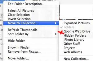 Google Webdrive