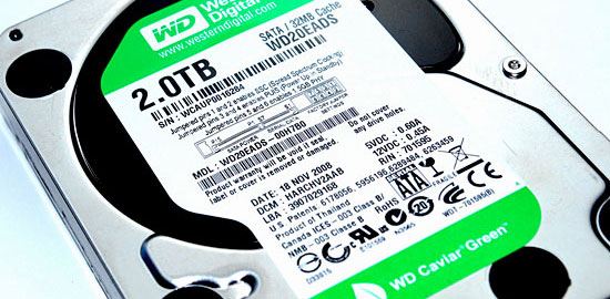 wd20eads 2tb hd label The mighty 2 Tera Bytes Hard Drive