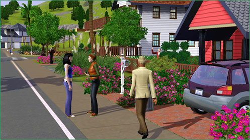 date sims 3