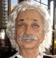 Robotic Einstein Head Has Empathy, Creepy Smile