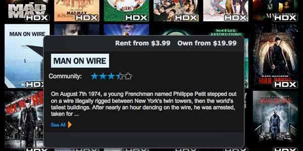 Vudu to Offer HD Movie Download Purchases   HotHardware