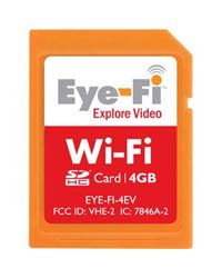 4GB Eye-Fi Explore Video