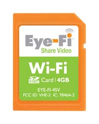 4GB Eye-Fi Share Video