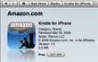 Amazon Kindle App Comes To iPhone
