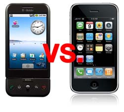 G1 vs iPhone