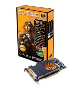 Zotac GeForce 9800GT Eco