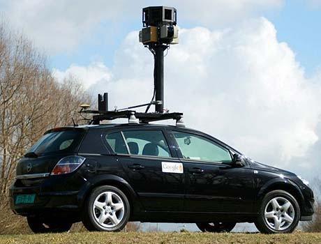 Google Street View car shoots Ardentinny