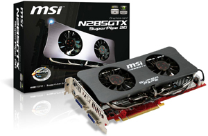 MSI N285GTX SuperPipe 2G
