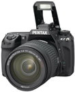 Pentax Debuts HD-Capable K-7 DSLR Camera