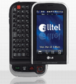 Alltel Snags LG Tritan Touchscreen Phone